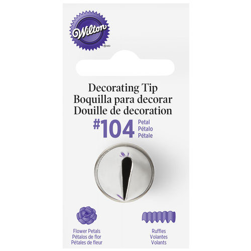 Wilton Petal Piping Tip 104