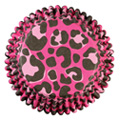 Wilton Pink Leopard Colour Cups Baking Cups 36pcs