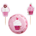 Wilton Pink Party Cupcake Combo 24pcs