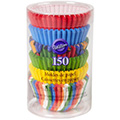 Wilton Primary Multi Pack Mini Baking Cups 150pcs