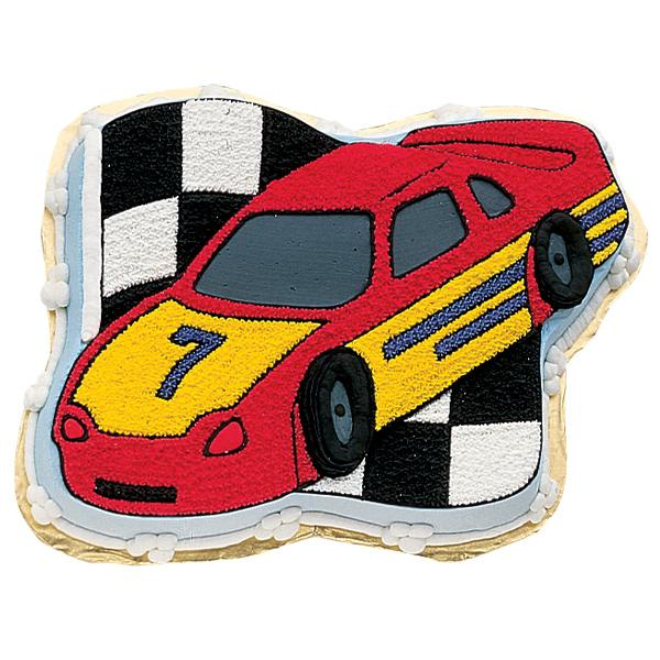 Wilton Race Car Novelty Cake Pan Tin