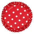 Wilton Red Polka Dot Baking Cups 75pcs