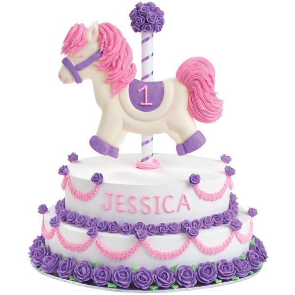 Rocking Horse Novelty Cake PanTin