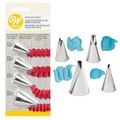 Wilton Ruffle Piping Tip Set 4pcs