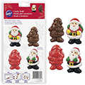 Wilton Santa Chocolate/Candy Mould