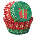 Wilton Holiday Christmas Mini Baking Cups 100pcs