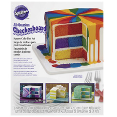 Wilton Square Checkerboard Cake Pan