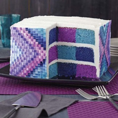Wilton Square Checkerboard 8 Inch Cake Pan