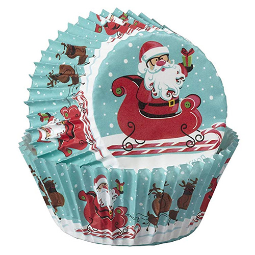Wilton Sweet Holiday Christmas Baking Cups