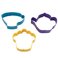 Wilton Tea Party Cookie Cutter Set 3pcs