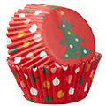 Wilton Tree Ornaments Christmas Baking Cups 75pcs