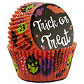 Wilton Trick or Treat Halloween Baking Cups 75pcs