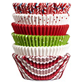 Wilton Xmas Holiday Multi Pack Christmas Baking Cups 150pcs