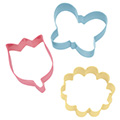 Wilton Flower Cookie Cutter Set 3pcs