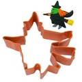 Halloween Witch Orange Cookie Cutter