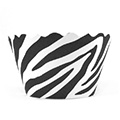Zebra Black/White Cupcake Wrappers 12pcs