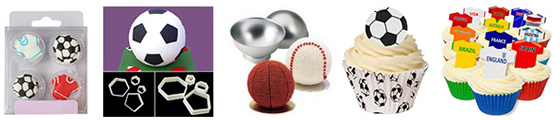 Soccer World Cup Cake Decorating Supplies