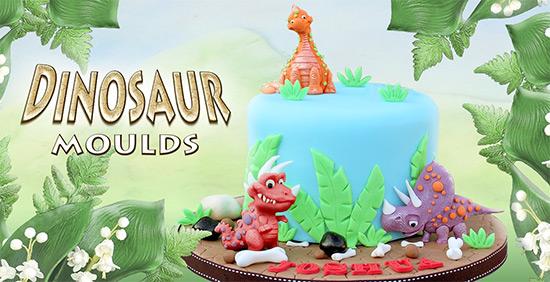 Katy Sue Dinosaur Moulds