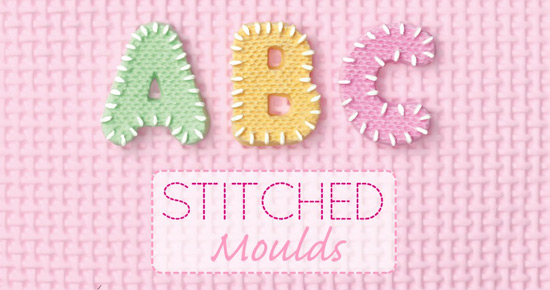 Katy Sue Stitched  Silicone Moulds