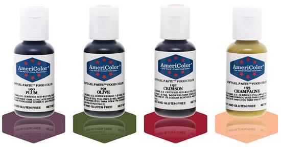 New AmeriColor Colours