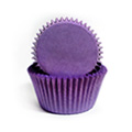 Purple Nordic Paper Mini Baking Cups 240pcs