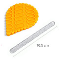 Acrylic Textured Rolling Pin - Tyre Marks (16.5cm)