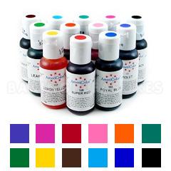 Americolor Soft Gel Paste Student Colour Kit 1