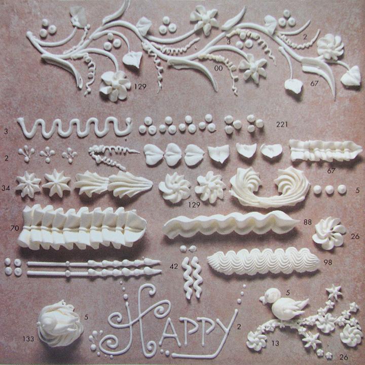Cake Decorating Ruffle Tips : Ateco Ruffle Small Piping Tip #88
