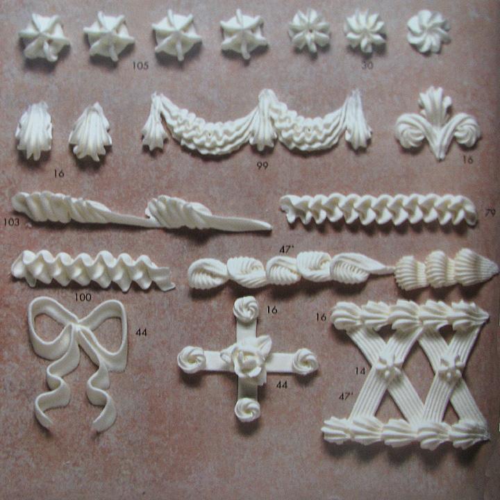 ateco ribbon small piping tip 44