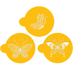 Butterfly Cookie Stencils