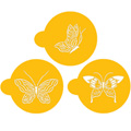Butterfly Cookie Stencils 3pcs