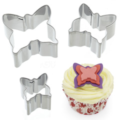 Butterfly Mini Stainless Steel Cutters