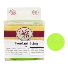 Cake Art Plastic Icing Review : Cake Art Lime Fondant Plastic Icing 250g