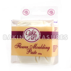 How To Use Cake Art Flower Moulding Paste : Cake Art Flower Moulding Paste White 250g