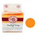 Cake Art Orange Fondant Plastic Icing 250g