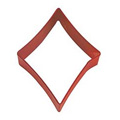 Card Diamond Red Resin Cookie Cutter