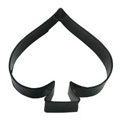 Card Spade Black Resin Cookie Cutter
