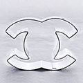 Chanel C Stainless Steel Cookie Cutter