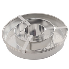Checkerboard Cake Tin Pan Set