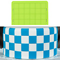 Marvelous Molds Checkerboard Silicone Onlay