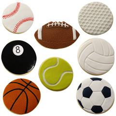 Cookie Texture Sets Sports Ball