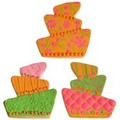 Cookie Texture Sets Whimsy Wedding Cake