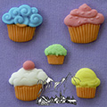 Alphabet Moulds Cupcakes Silicone Mould