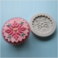 Alphabet Moulds Decorative Cupcake Topper Silicone Mould