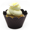 Eggplant Cupcake Wrapper 12pcs