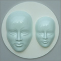 Alphabet Moulds Faces Silicone Mould
