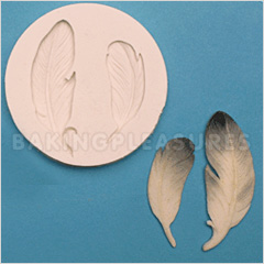 FPC Sugarcraft Feathers Silicone Mould