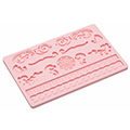 Filigree Sugarcraft Silicone Mould