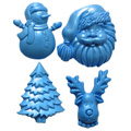 First Impressions Moulds Christmas Set 1