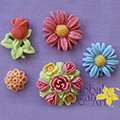 Flowers Sugarcraft Silicone Mould